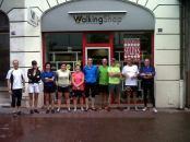 Animation Barefoot Running chez Walking Shop Annecy - Juillet 2013.